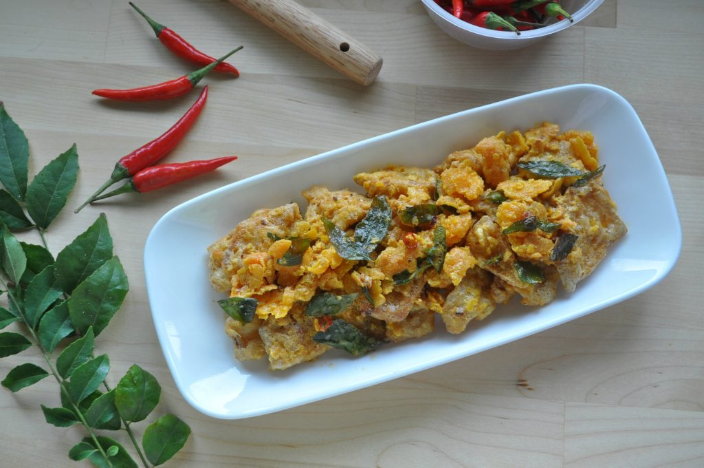 Crispy Salted Egg Yolk Pumpkin_5