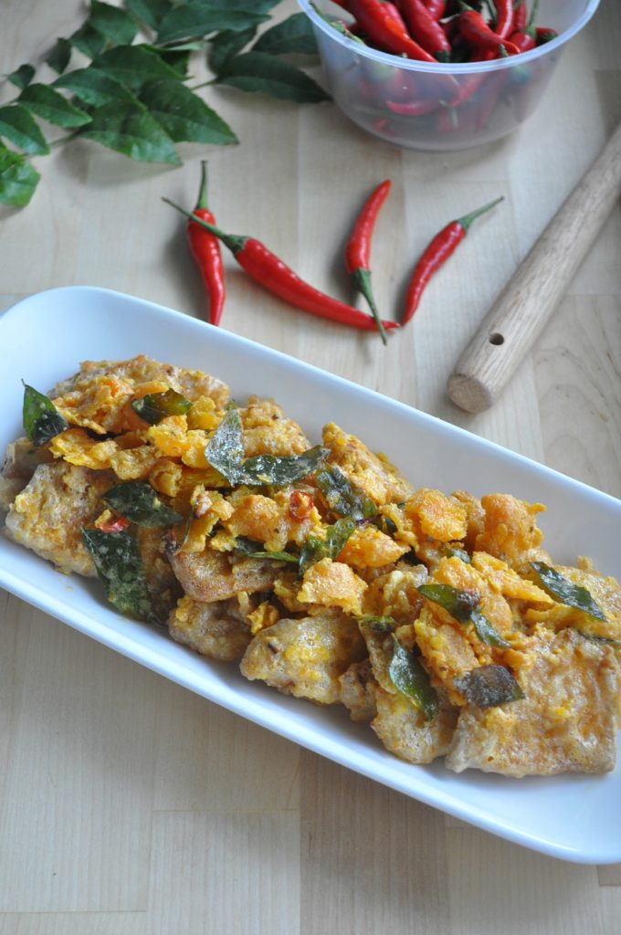 Crispy Salted Egg Yolk Pumpkin_6