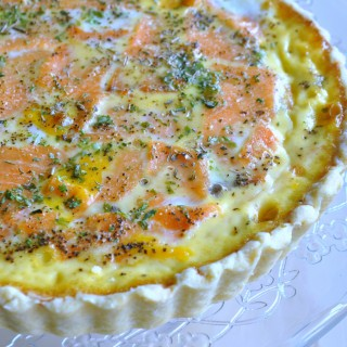Cooking with IKEA – Smoked Salmon & Mushroom Cheese Quiche 烟熏三文鱼与蘑菇起司塔