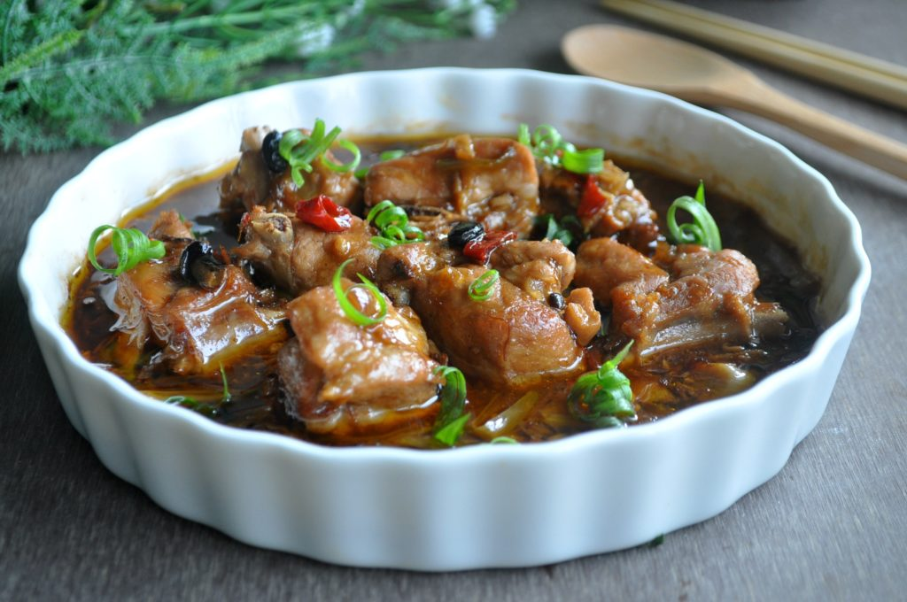 Steamed Pork Ribs in Black Bean XO Sauce_5