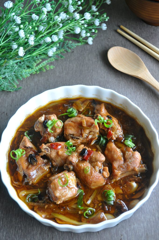 Steamed Pork Ribs in Black Bean XO Sauce_8