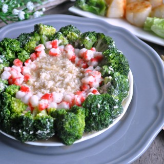 Broccoli with Egg White Sauce 西兰花炒蛋白酱