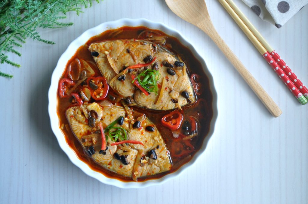 Braised Fish in Black Bean_1