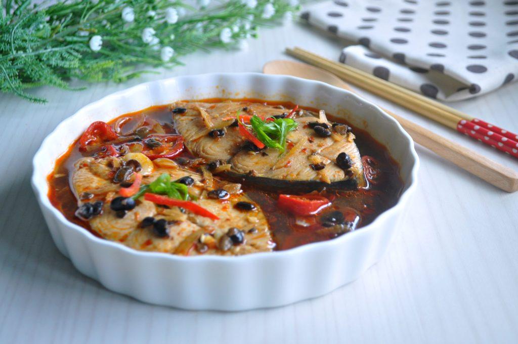 Braised Fish in Black Bean_3