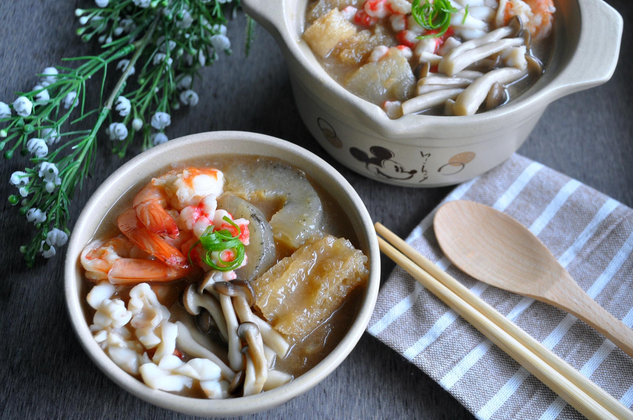 Fish Maw & Sea Cucumber Seafood Broth 什锦鱼鳔海参羹 – Eat What ...
