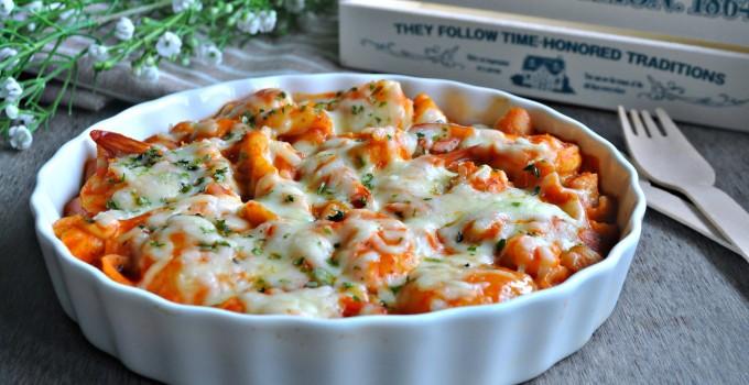 Seafood & Macaroni Goulash 起司通心粉炖海鲜
