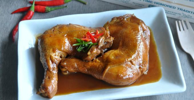 Stewed Five-Spiced Chicken 五味卤鸡