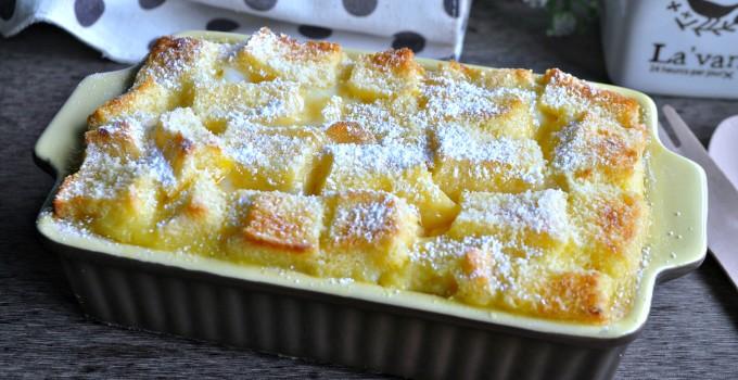Easy Bread & Butter Pudding 面包牛油布丁