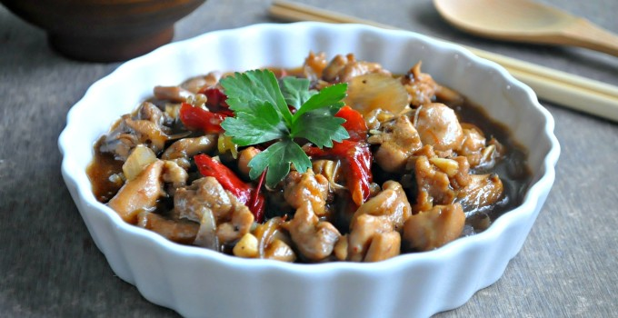 Szechuan Peppercorn Chilli Chicken with Shaoxing Wine 酒香花椒辣鸡丁