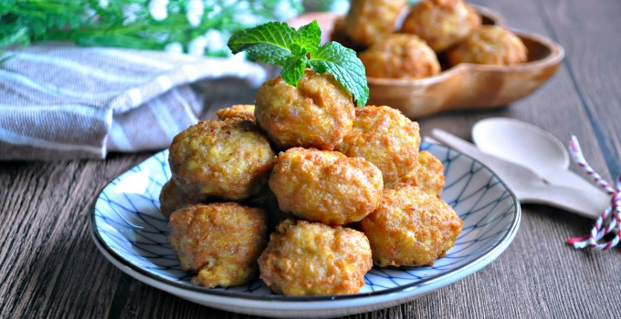 Tofu Meatballs  or LazyMan Meatballs 豆腐肉圆 / 懒人肉圆