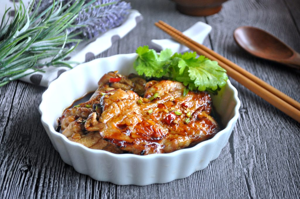 Grilled Chicken w Spicy Fragrant Dressing_7
