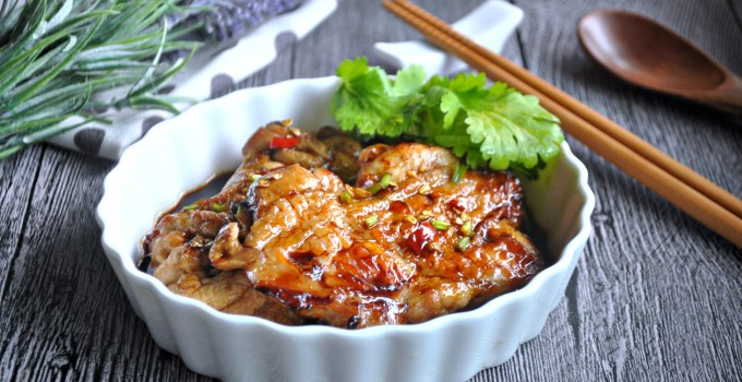 Grilled Chicken with Spicy Fragrant Dressing 麻椒鸡扒