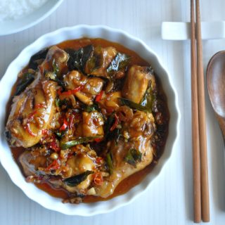 Kam Heong Chicken / Fragrant Spicy & Sweet Chicken 甘香明鸡