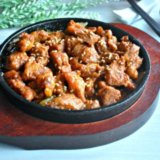 Korean Pork Bulgogi 韩式炒辣肉