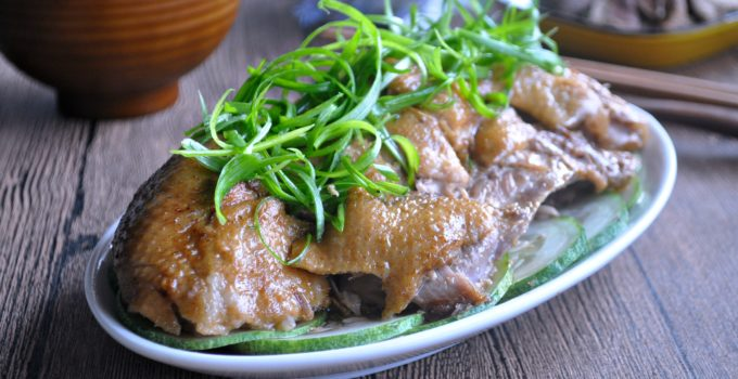 Braised Duck with Dried Tangerine Peel 橙皮焖鸭