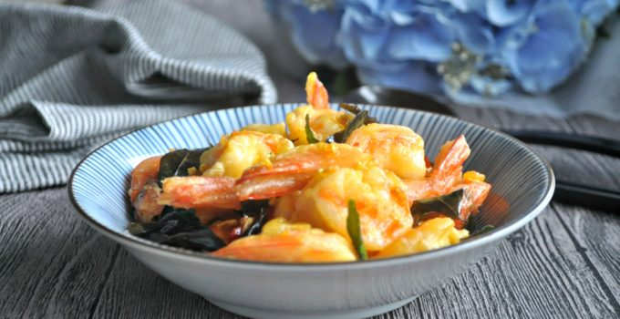 Fragrant Butter Prawns 香脆牛油虾