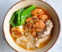 Local Style Prawn Noodles Soup with Grilled Seafood using Nomu Spices