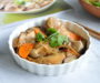 Steamed Chicken with Shiitake Mushrooms & Dried Tangerine Peel 香菇橙皮蒸鸡