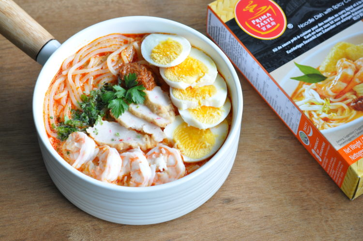 Eat what tonight singapore food and lifestyle blog singapore laksa with prima taste ready to cook meal kits forumfinder Images