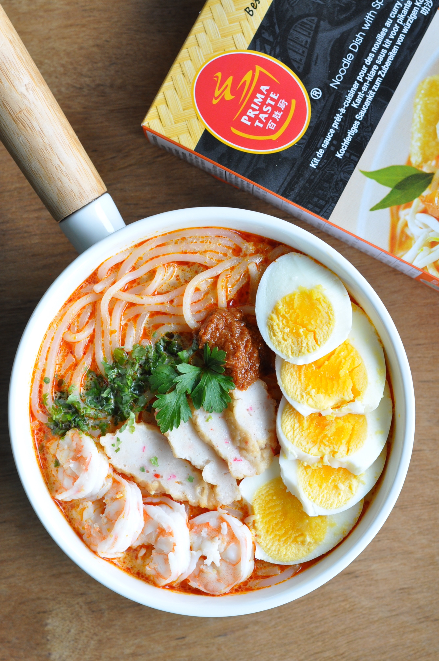 Eat what tonight singapore food recipes blog on feedspot rss feed and primataste being a local homegrown brand had come out with a convenient ready to cook meal kit that makes cooking of this local dish such a no brainer forumfinder Images