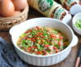 Goma Dare Mince Meat Chawanmushi using Mizkan's Sesame Sauce with Roasted Nuts
