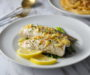 Pan Grilled Barramundi Fish With Lemon Garlic Butter Sauce