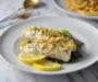 Pan Grilled Barramundi Fish With Lemon Garlic Butter Sauce