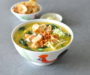 Pumpkin Spinach & Salmon Porridge  金瓜菠菜三文鱼粥