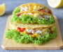 Barramundi Fish and Egg Salad Tacos