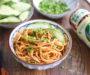 Sesame Noodles using Mizkan Sesame Sauce with Roasted Nuts